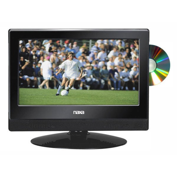 Naxa RBNTD-1354 13.3-inch LED 1080i HDTV ATSC Digital Tuner with DVD Player