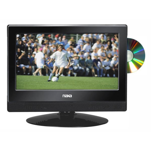 Naxa NTD-1354 LED 13.3-inch 1080i HDTV ATSC Digital Tuner with DVD Player