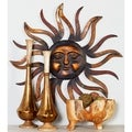 Metal Sun Wall Decor