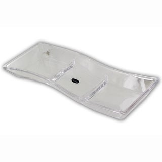 Luigi Bormioli Michelangelo 3-Section Divided Tray