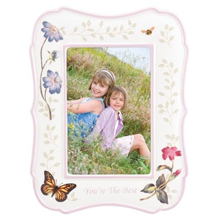 Lenox Butterfly Meadow Everyday Celebrations You're the Best Frame