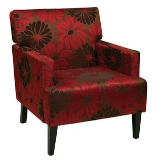 Ave Six Carrington Chrysanthemum Floral Armchair
