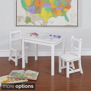 3 piece Children's Table and Chair Set with Reversible Top