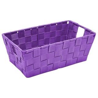 Woven Strap Small Shelf Tote