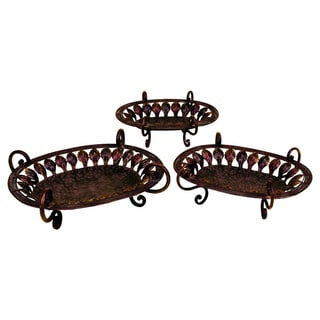 Metal Tray (Set of 3)