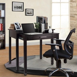 Warm Brown Roll-out Desk