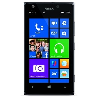 Nokia Lumia 925 RM-893 16GB 4G LTE AT&T Locked Windows 8 Black Cell Phone