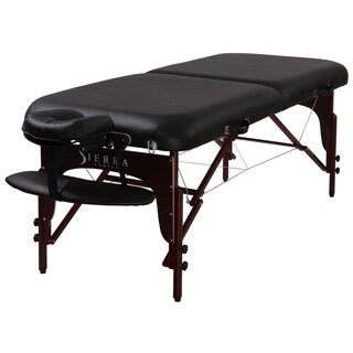 Sierra Comfort Premium Portable Mahogany Massage Table