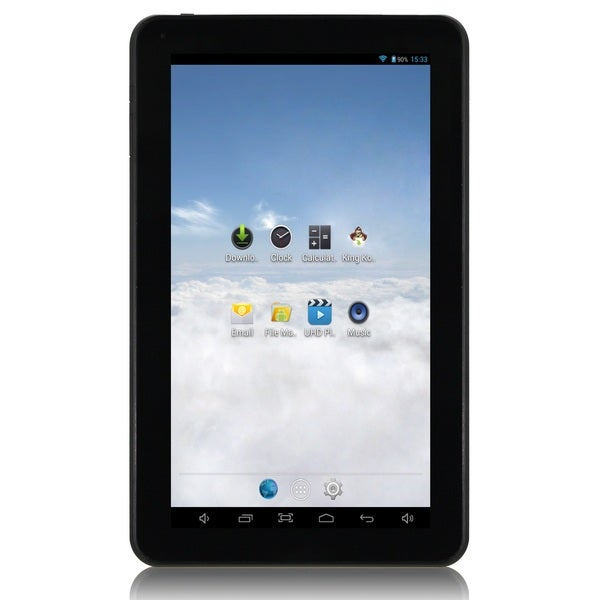 iView SupraPad 8GB 10.1-inch Android 4.2 Silver Tablet PC