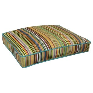 Pooch & Kitty Barcelona Stripe Rectangle Pet Bed