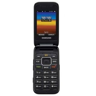 Samsung M400 Sprint CDMA Silver Flip Cell Phone