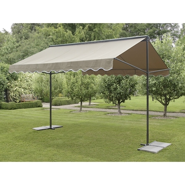 Grey Wavey 9-foot Outdoor Sunshade