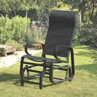Havana Black Single Seat Glider