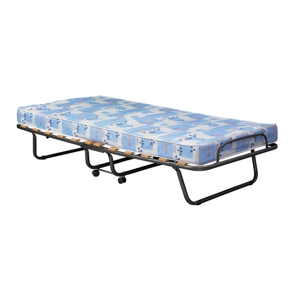 Roma Single-size Foam Folding Roller Bed Mattress Set