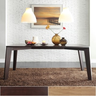 INSPIRE Q Sasha Mid-century Modern Brown Angled Leg Dining Table