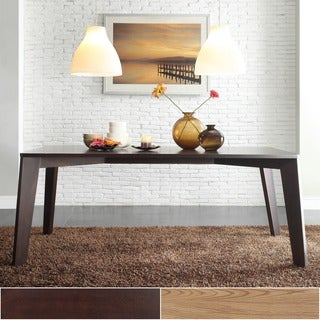 Sasha Modern Brown Angled Leg Dining Table