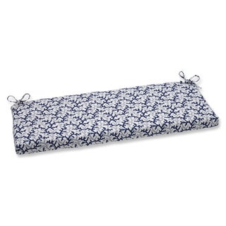 Pillow Perfect Bench Cushion with Bella-Dura Andros Navy Fabric Fabric