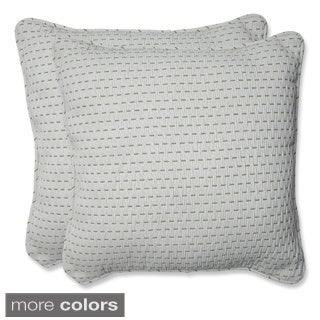 Pillow Perfect 18.5-inch Throw Pillow (Set of 2)