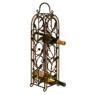 5-bottle Metal Wine Rack Vino