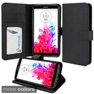 Abacus24-7 LG G3 Wallet Case with Stand Accessory