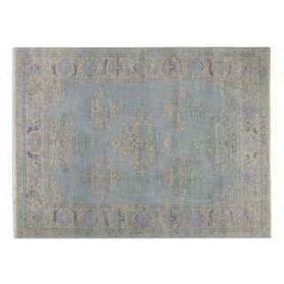 Uttermost Yalova Blue Wool Rug (6' x 9')