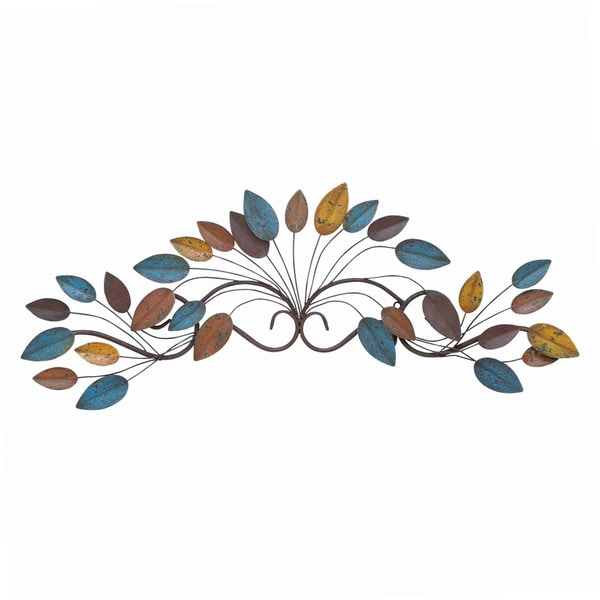 Metal Leaf Wall Decor with Non-corrosive Surface