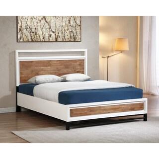 Henna Tri-tone Queen Platform Bed