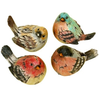Polystone Bird (Set of 4)