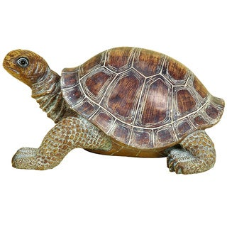 Polystone 15-inch Turtle