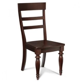 Intercon Bridgeport Espresso Solid Birch Side Chairs (Set of 2)