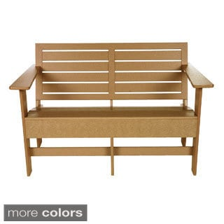 Berlin 4-foot Eco-friendly Outdoor Loveseat