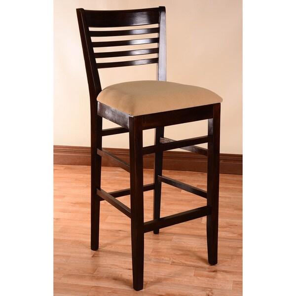 Venetian Upholstered Beech Wood Bar Stool 16293595