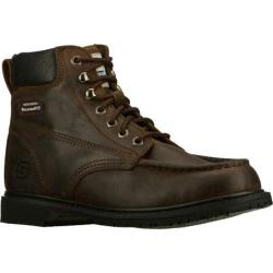 Men's Skechers Work Relaxed Fit On Site Verto SR Brown