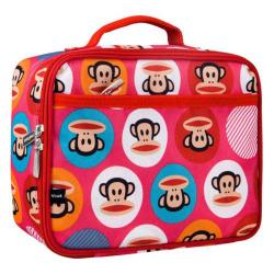 Children's Wildkin Lunch Box Paul Frank Core Dot