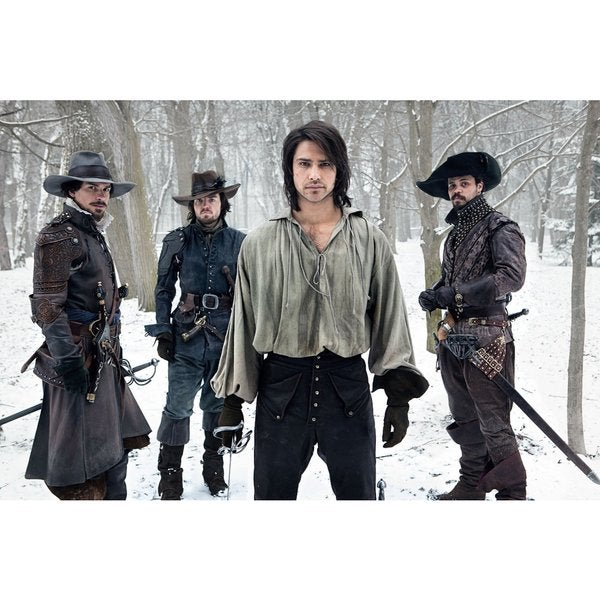 The Musketeers: Season One (Blu-ray Disc) 13093411