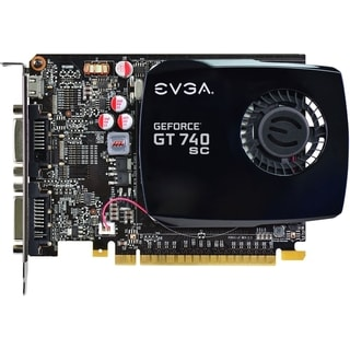 EVGA GeForce GT 740 Graphic Card - 1059 MHz Core - 2 GB DDR3 SDRAM -