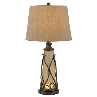 Cal Lighting Taylor Table Lamp with LED Night Light
