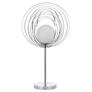 Cal Lighting Chrome Halogen OrbIt Accent Lamp