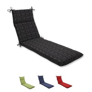 Pillow Perfect Chaise Lounge Cushion with Bella-Dura Conran Fabric