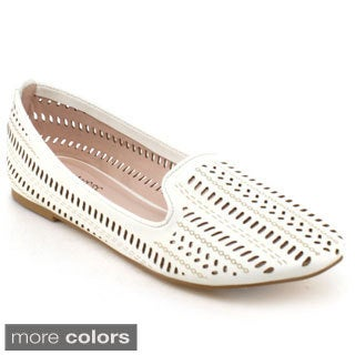 BONNIBEL KAHINI-1 Women's Perforated Slip On Loafers