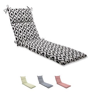 Pillow Perfect Chaise Lounge Cushion with Bella-Dura Shivali Fabric