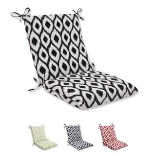 Pillow Perfect Squared Corners Chair Cushion with Bella-Dura Shivali Fabric