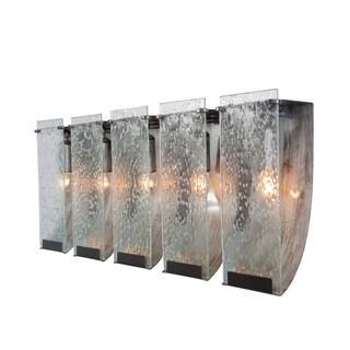 Varaluz Recycled Rain Five Light Bath Fixture