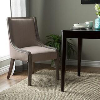 Arietta Beige Linen Dining Chair