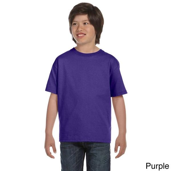 Fruit of the Loom Youth Cotton Lofteez HD T-shirt