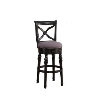 Hadleigh Bar Height Stool in Black