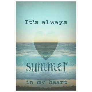 Monika Strigel 'It'S Always Summer In My Heart' Fine Art Giclee Print