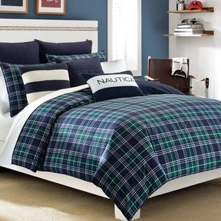 Nautica Trescott 3-piece Cotton Duvet Cover Set