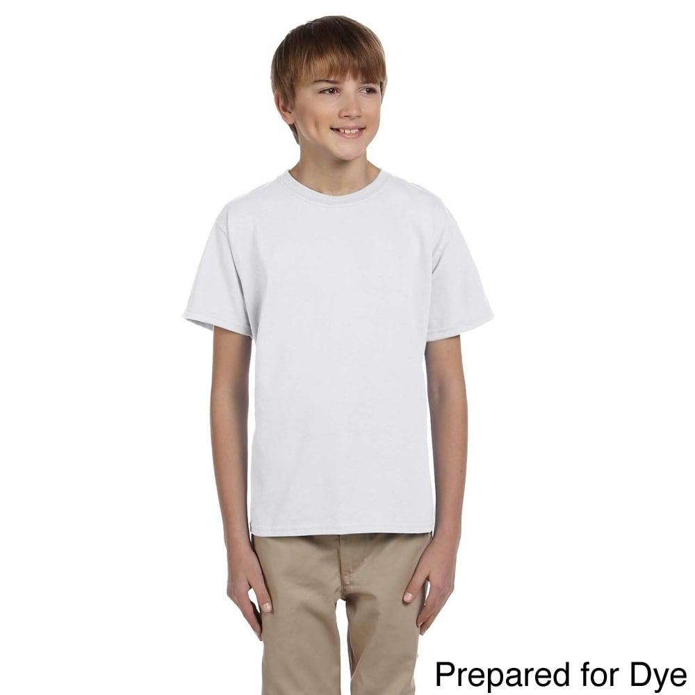 Gildan Gildan Youth Ultra Cotton 6 ounce T shirt Red Size L (14 16)