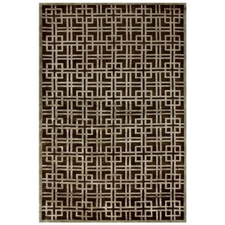 Tao Pewter Area Rug (5'6 x 8'6)